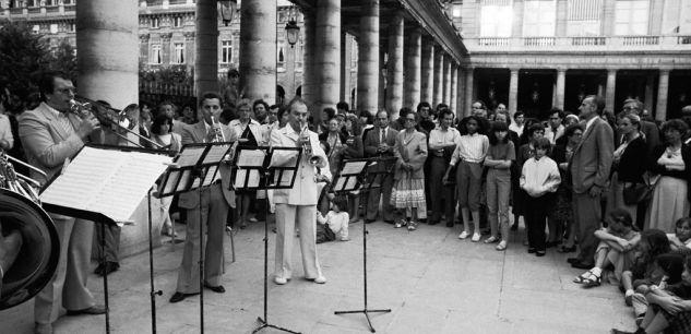 Palais Royal, première édition Fête de la musique, Paris, 1982, SIPA