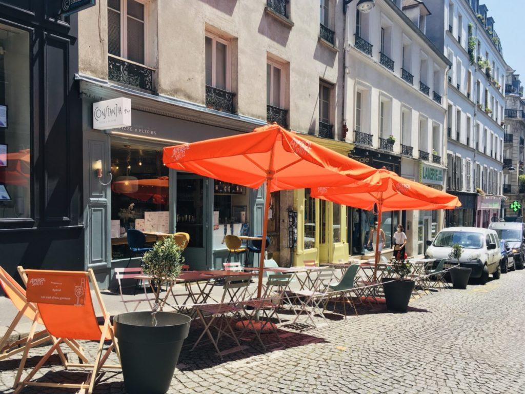 Terrasse Montmartre post-confinement Constantia