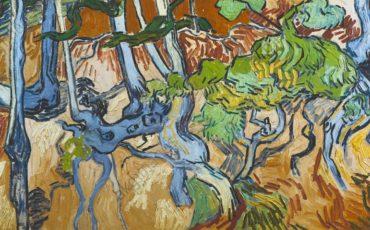 V. v. Gogh, Baumwurzeln und Baumstämme