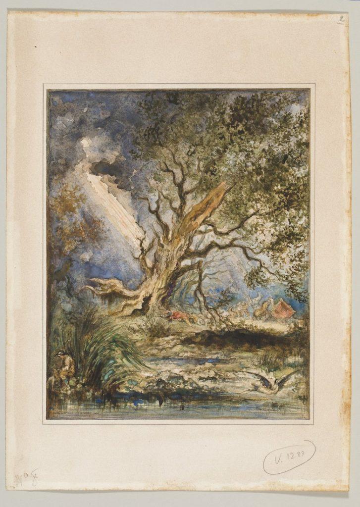 Gustave Moreau Fables de La Fontaine