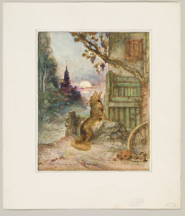 Gustave Moreau Fables de La Fontaine paris