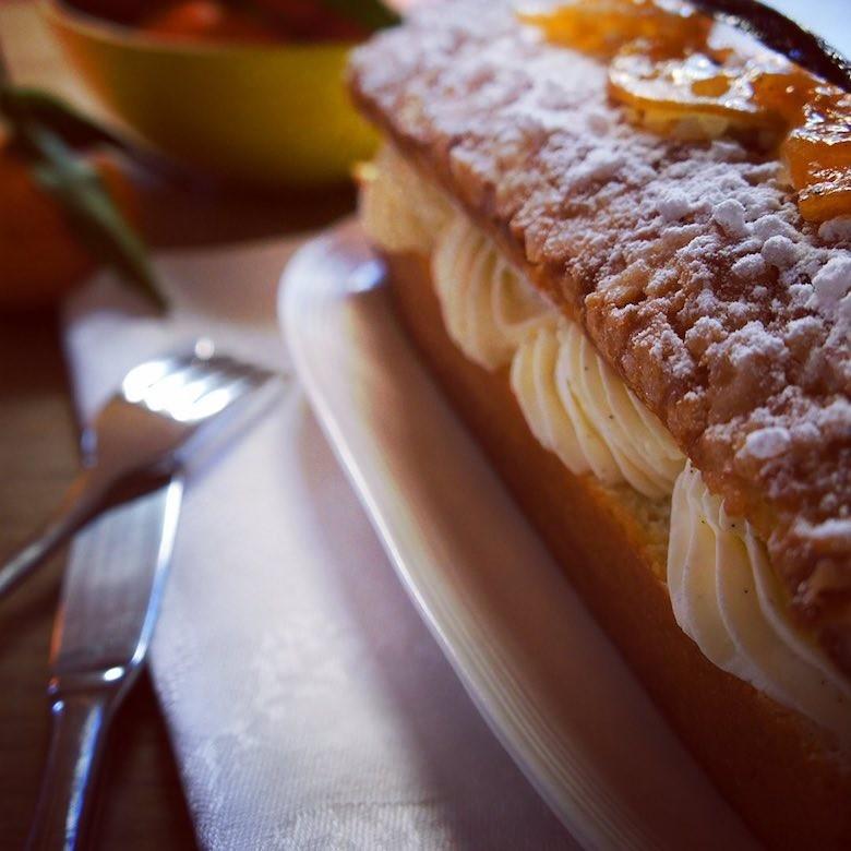 Julo Paris pâtisserie cake tropézien
