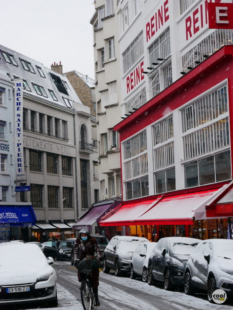 Montmartre neige PHOTOS