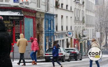 neige paris photo janvier 2021