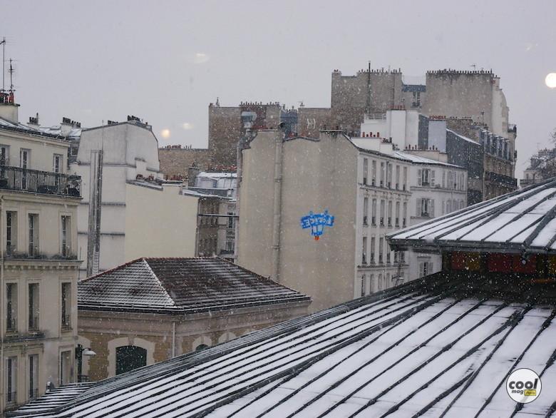 neige photos paris