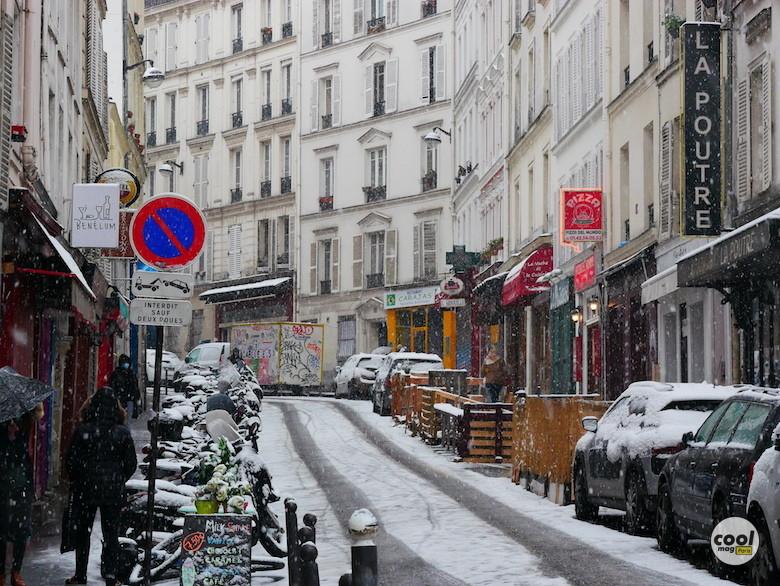 paris neige photos
