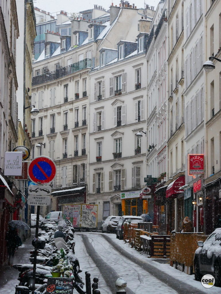 rue des trois frères neige paris