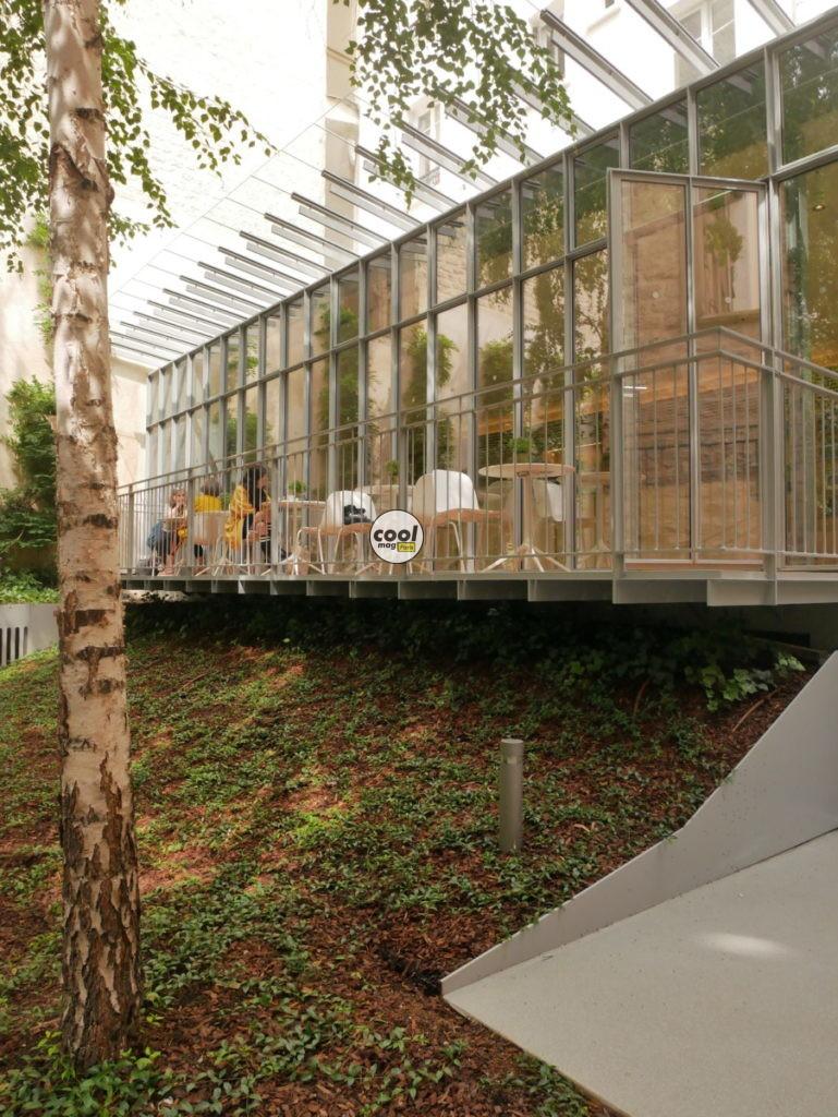 Le Studio café Fondation Jérome Seydoux-Pathé