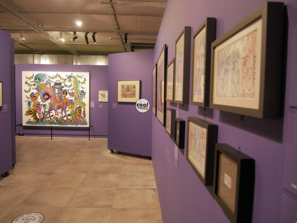 Exposition timbre musée poste 2021