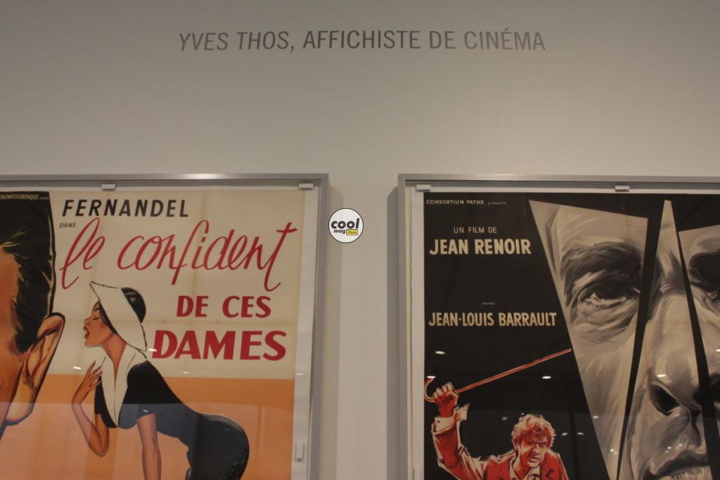 yves thos Fondation Seydoux-Pathé affichiste