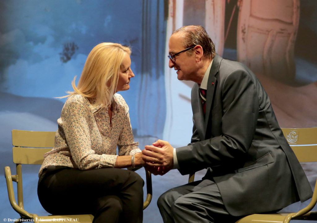 Chirac théâtre Contrescarpe