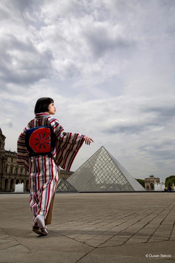 Dusan Bekcic photos japon Le louvre