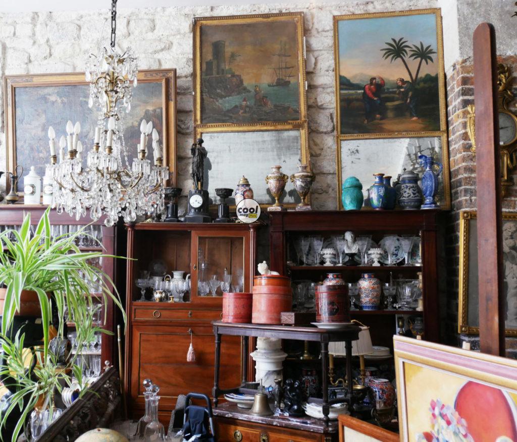 boutique antiquités paris